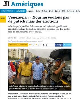 Venezuela: coup de projecteur sur les zones d´ombre médiatiques Arton31914-3f2fb
